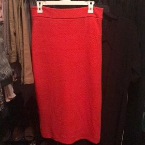 Ann Taylor Fitted Pencil Skirt